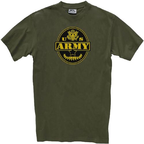 Camiseta militar army. Importada de los Estados Unidos. Prenda de importación de buena calidad. Ligera y cómoda. Tacto agradable.