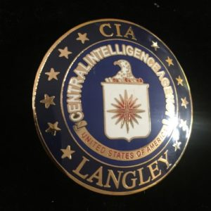 CENTRAL INTELLIGENCE AGENCY BADGE