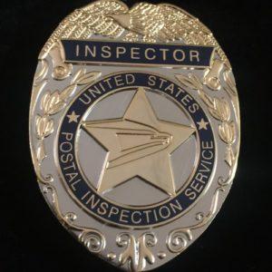 POSTAL INSPECTION SERVICE BADGE