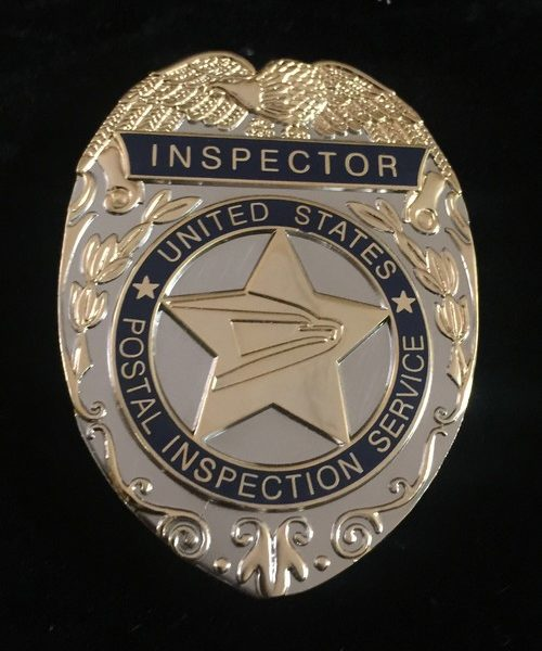 POSTAL INSPECTION SERVICE BADGE