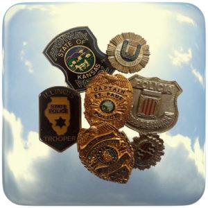 Insignias Policía