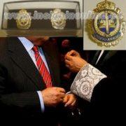 insignias peritos judiciales