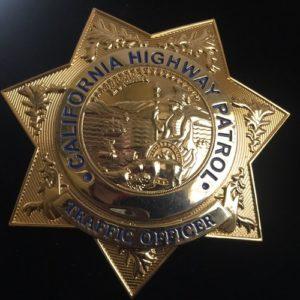 Placa Policía California