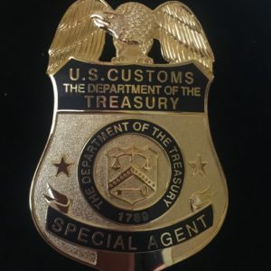 DEPARTMENT TREASURY BADGE