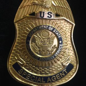 DIPLOMATIC SECURITY SERVICE BADGE