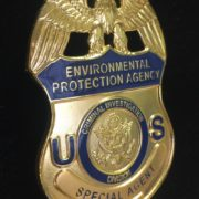 ENVIRONMENTAL PROTECTION AGENCY BADGE