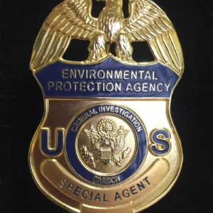 ENVIRONMENTAL PROTECTION AGENCY FEDERAL BADGE