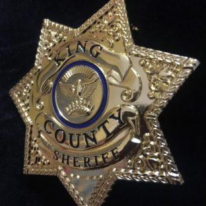 ESTRELLA SHERIFF ATREZZO CINE TELEVISION