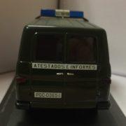 Furgoneta Mercedes Guardia Civil Atestados e Informes