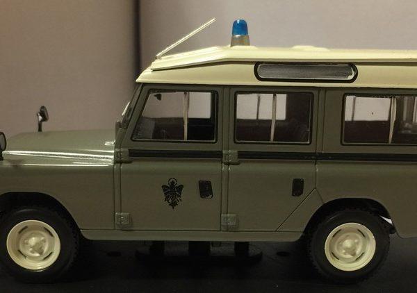 Land Rover 109 Diesel Policía Armada 1962