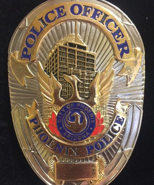 PHOENIX POLICE BADGE