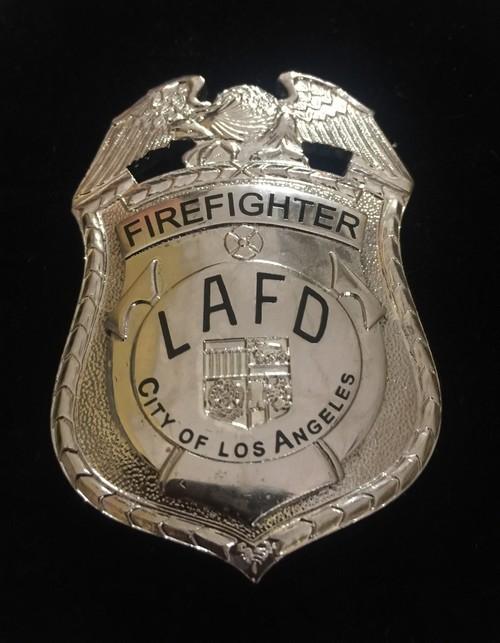 Placa de Bomberos Los Angeles