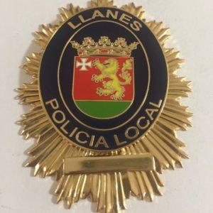 PLACA DE LA POLICÍA LOCAL DE LLANES