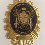 PLACA DE LA POLICIA LOCAL DE VILLAVICIOSA ASTURIAS