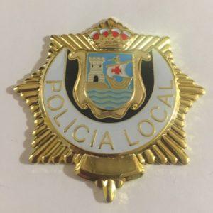 PLACA DE POLICÍA LOCAL DE CANTABRIA