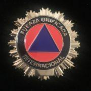 PLACA FUERZA UNIFICADA INTERNACIONAL PROTECCIÓN CIVIL