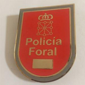 PLACA POLICÍA FORAL NAVARRA