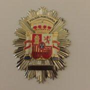 PLACA POLICÍA PORTUARIA