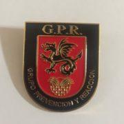 Placa de Policía del Grupo de Prevención y Reacción G.P.R. de la Policía Local de Melilla