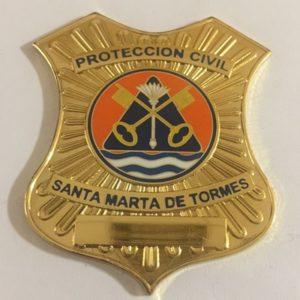 Placa de Protección Civil de Santa Marta de Tormes Salamanca
