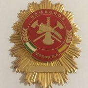 Placa de bomberos de la Base Aérea de Morón de la Frontera