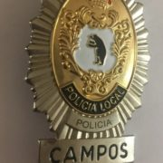 Placa de la Policía Local de Campos, Mallorca