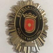 Placa de la Policía Local de Estella-Lizarra, Navarra