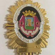 Placa de la Policía Local de Plasencia Cáceres