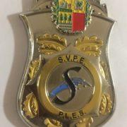 Placa del Sindicato Vasco de Policía y Emergencias
