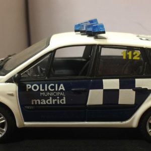 Renault Scenic Policía Municipal Madrid