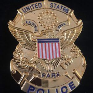 UNITED STATES PARK POLICE BADGE