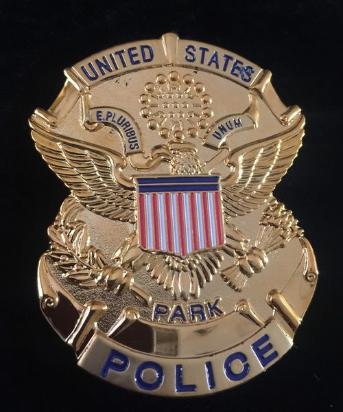 UNITED STATES PARK POLICE BADGE