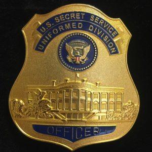 Placa División Uniformada Servicio Secreto