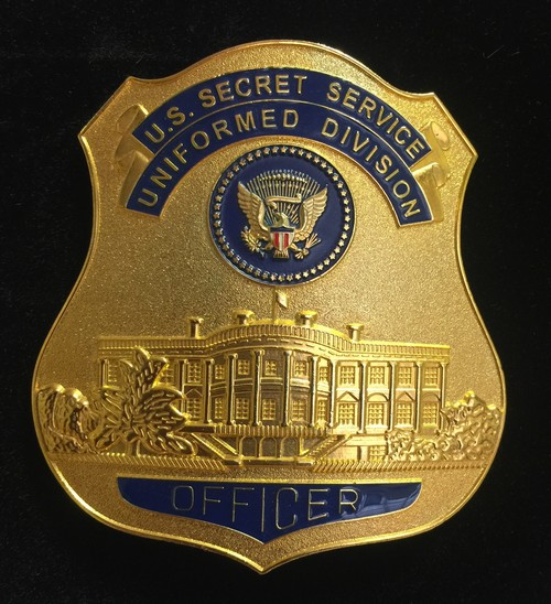 US SECRET SERVICE UNIFORMED DIVISION BADGE