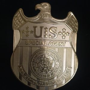 US SPECIAL AGENT BADGE