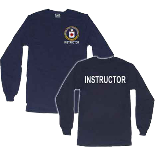 Camiseta Instructor Agencia Central Inteligencia. Camiseta de Instructor de la CIA