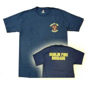Camiseta Bomberos Dublín Irlanda. Camiseta del Cuerpo de Bomberos de la ciudad de Dublín, Irlanda