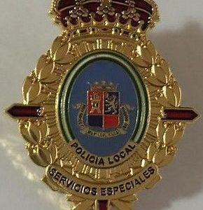 Insignia de Servicios especiales de la policía local de Torrox Málaga