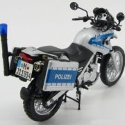 Moto Die Cast Policía Alemania