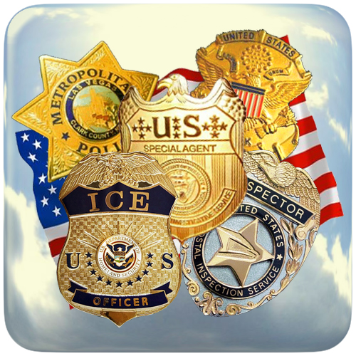 Placas Policía Estados Unidos