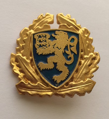 Insignia Oficial de la Policía Nacional de Estonia