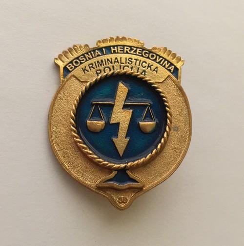 Insignia de la Policía de Bosnia Herzegovina