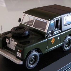 Land Rover corto IS de la Guardia Civil del año 1956