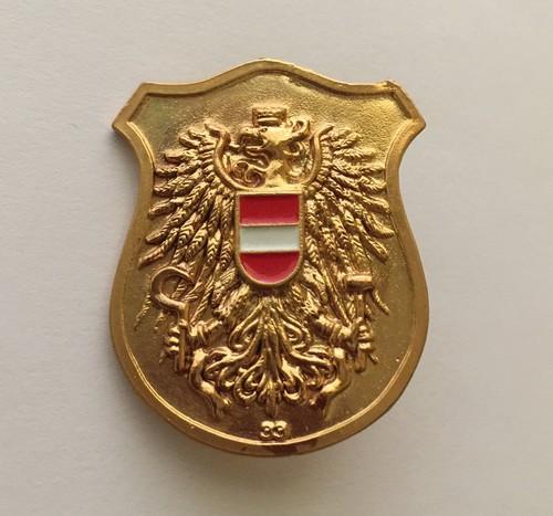 Insignia de la policía de Austria
