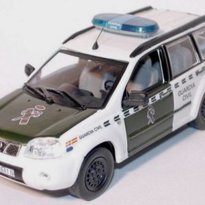 Nissan X Trail de la Guardia Civil del año 2004