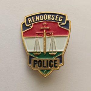 Insignia de la policía de Hungría