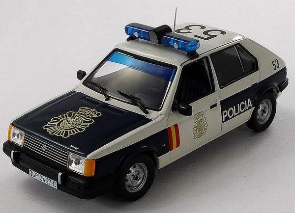 Talbot Horizon utilizado por la policía nacional en 1987