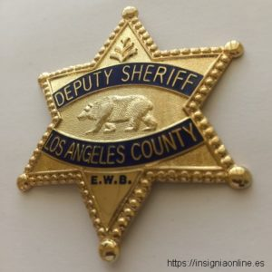 LOS ANGELES COUNTY POLICE BADGE