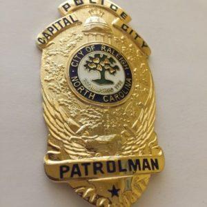 NORTH CAROLINA POLICE BADGE