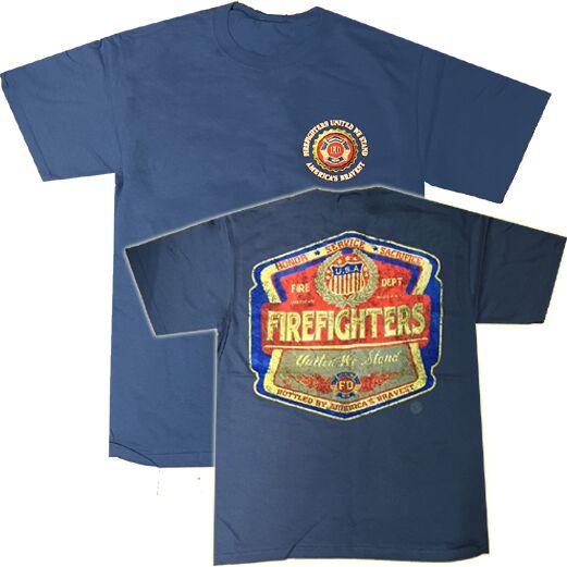 Camiseta Bomberos Americanos Unidos